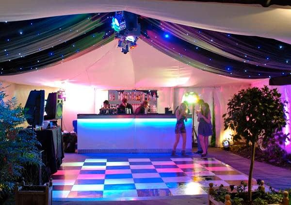 How to rent canopies and tents for a party